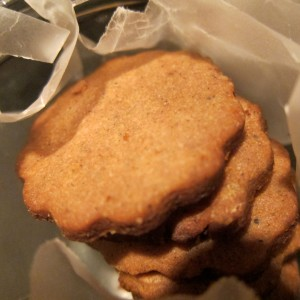 Cocoa and Earl Grey Shortbread
